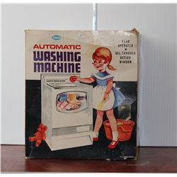 Vintage Reliable Washing Machine Toy in Box
