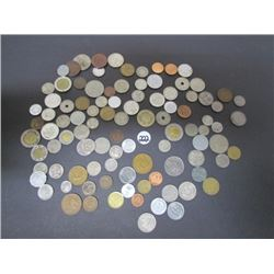 Assorted World Coins Lot