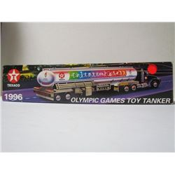 Olynpic Games Limited Edition #3Collectors Series 1996 Texaco Toy Truck- in original box