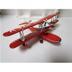Ertl Collections- NC374V Die Cast Red Airplane