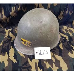Surplus Spanish Army Steel Helmet (WW2 US Army Style)