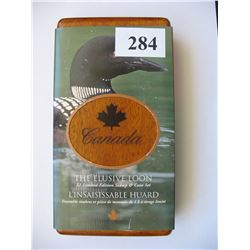 2004 Canada Mint / Canada Post Coin & Stamp Set - $1.00  Loon