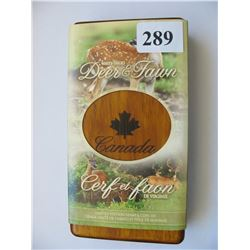 2005 Canada Mint/Canada Post Coin & Stamp Set - $5.00 Silver Deer & Fawn