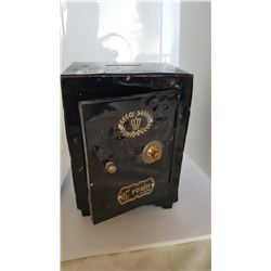 Crown Brand Steel Safe Shaped Coin Bank