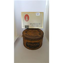 Tobacco Tins- Turret and Ottoman