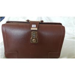 Genuine Cowhide Brief Case with key