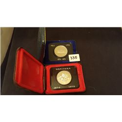 1970 and 1973 Cased Dollars