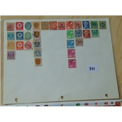 8 Sheets of Stamps: Germany,Hungary,China