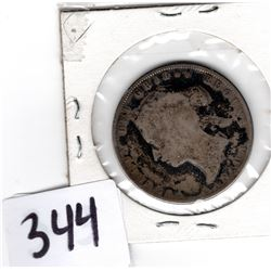 1872 H Silver Fifty Cent Piece