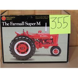 Farmall Super M Tractor Toy