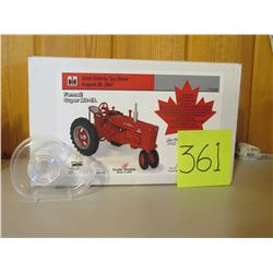 "1/16 Scale Farmall Super MD-Ta Tractor Toy- Scale Models 11""x6.5"""