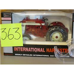 "1/16 scale IH 340 Gas Tractor toy Die Cast Classic Series 10.5""x7"""