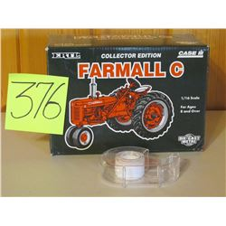 "1/16 Scale Farmall C Collector Editiion Tractor Toy 10.5""x 7.5"