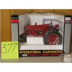1/16 Scale IH Farmall 400 Diesel Tractor Toy
