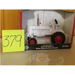 1/16 Scale Farmall Super A White Demonstration