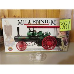 Case Steam Engine Tractor Millennium Farm Classics tractor Toy