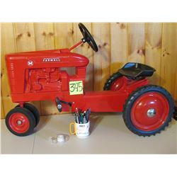 "Farmall M Pedal Tractor Toy- 37""x16"""