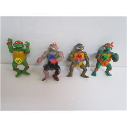 Playmates-90's Ninja Turtles Figurines