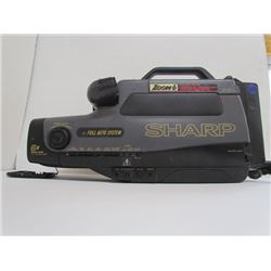 Sharp VHS Vintage Video Camcorder Zoom6