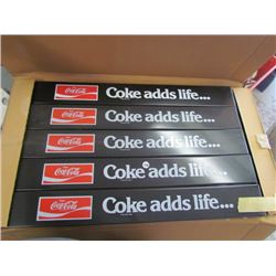 5- Coca Cola Door Push's NOS