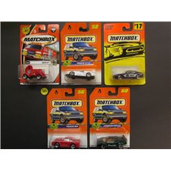 Matchbox Watts Up #60 50th anniversary, Porsche 911 GTR1 #58, Ferrari 456 GT Superfast #17, Porsche