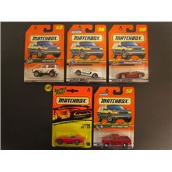 Matchbox Land Rover 90 #53 Series 7, 1999 Mustang Convertible #36, BMW Z3 Roadster #50, SuperFast Vi