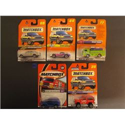 Matchbox Mercedes Benz A-Glass #56, Toyota Supra #44 Series 6, Mack Truck #77 Action Metro Base, Chr