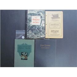 Lot of Vintage Manuals, Farm Economy Supplement 70pgs, The Story of Pure Iron 47pgs, The Romance of