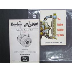 The Engine Cooling System/Union Carbide 45pgs, Hydraulic Power Unit Hi-Lo-Pac Model 600 19pgs