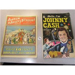 Barnum & Bailey's Aladdin and His Wonderful Lamp+ Hello I'm Johnny Cash Comic