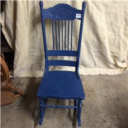 Pressback Rocker-Painted