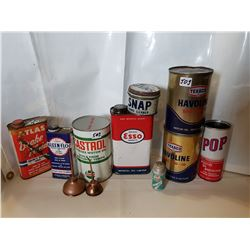 Oil Related Tins