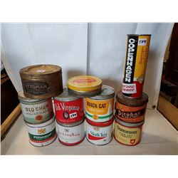 Tobacco Tins Lot 1