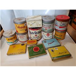 Tobacco Tins Lot 2