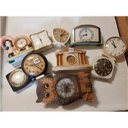 Lot of Clocks AS IS