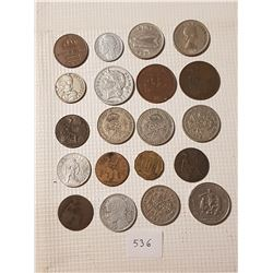 20 Old World Coins