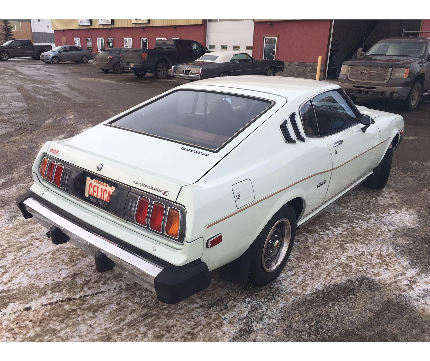 Toyota Celica Coupe 1600 Gt: FRIDAY NIGHT 1977 TOYOTA CELICA GT FASTBACK GT ONLY 30000
