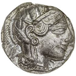 ATTICA: Anonymous, 449-413 BC, AR tetradrachm (17.15g). NGC MS