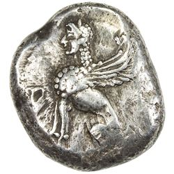 IONIAN ISLANDS: Chios: Anonymous, circa 400-380 BC, AR drachm (7.84g). VG-F