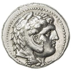 MACEDONIA: Alexander III, the Great, 336-323 BC, AR tetradrachm (17.07g). EF