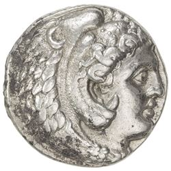 MACEDONIA: Alexander III, the Great, 336-323 BC, AR tetradrachm (17.10g), Arados. VF-EF