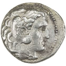 MACEDONIA: Alexander III, the Great, 336-323 BC, AR tetradrachm (16.09g). VF