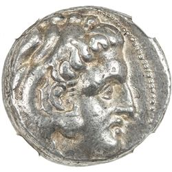 MACEDONIA: Alexander III, the Great, 336-323 BC, AR tetradrachm (17.13g). NGC VF