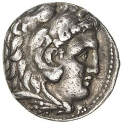 MACEDONIA: Alexander III, the Great, 336-323 BC, AR tetradrachm (17.10g), Babylon. VF