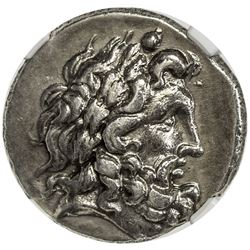 THESSALY: AR double victoriatus (6.06g), 2nd-1st Centuries BC. NGC EF