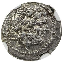 ROMAN REPUBLIC: AR victoriatus (2.78g), after ca. 211 BC. NGC AU