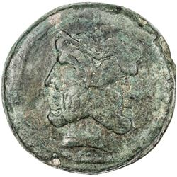ROMAN REPUBLIC: AE As (44.58g), Rome. F-VF