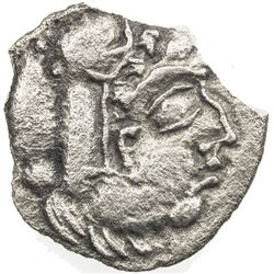 NAKHSHAB: uncertain series, 1st-3rd century, AR unit (0.97g). VF-EF