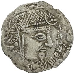 GHUZZ OF SYRDARIA: 'Abd Allah b. Tahir, 830-845, AR drachm (1.31g), NM, ND. VF