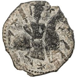 SELJUQ OF RUM: Tughril, 1180s-1221, AE fals (3.97g), NM, ND. VF